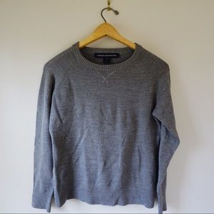 French Connection grey pullover sweater